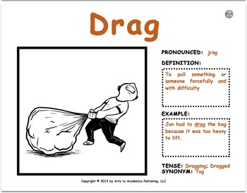 """Visual Vocabulary """"Comprehension"""" Word Cards (1st-2nd Grad"""