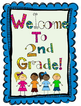 2nd Grade - All year long Memory Book - Beg, Mid, and End!