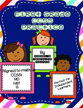 1st Grade CCSS Practice Pages