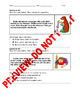 1st Grade CCSS RL.1.2 Assessment (Central Messages/Morals