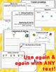 1st Grade CCSS Aligned Reading Standards Worksheets