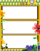 1st Grade CCSS Vocabulary Wall STARTER and Instructions--