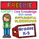 1st Grade CKLA EngageNY Core Knowledge PowerPoints Preview
