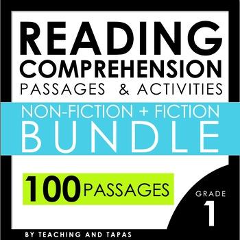 1st Grade Close Reading - Informational AND Literature BUN