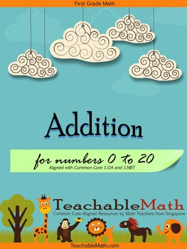 Singapore Math in Focus 1st Grade Addition Common Core (nu