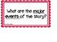 1st Grade Common Core Aligned Reading Task Cards and Essen