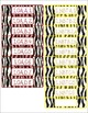 1st Grade Common Core CCSS Labels and Posters Math and ELA-Zebra