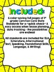 "1st Grade Common Core ELA ""I Can"" Checklist (Ink Saver)"