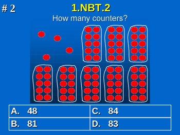 1st Grade Common Core Math 1 NBT.2 Understand Place Value 1.NBT.2