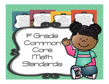 1st Grade Common Core Math Standards