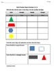 1st Grade Common Core Math Worksheets 1.G.1 Shape Attributes