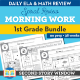 1st Grade Morning Work