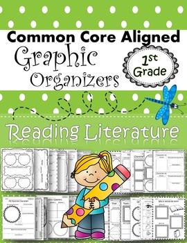 1st Grade Common Core Standards Graphic Organizers for Rea