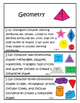"""1st Grade Common Core Standards for Math """"I Can"""" Statements!"""