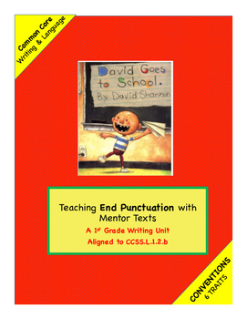 1st Grade Conventions Trait:  Writing Unit using David Goe