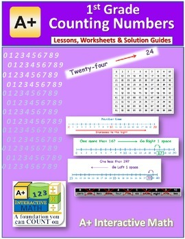 1st Grade Math Counting Numbers Lessons, Worksheets, Solut