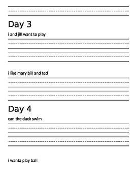 1st Grade DOL Workbook (100 Days)