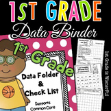 1st Grade Data Folder - Binder Check List~supports Common