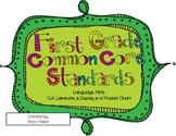 "1st Grade ELA Common Core Standards & ""I Can"" Statements f"