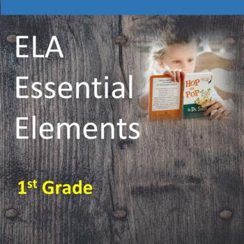 1st Grade ELA Essential Elements for Cognitive Disabilitie