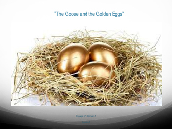 """1st Grade Engage NY - """"The Goose and the Golden Eggs"""" Voca"""