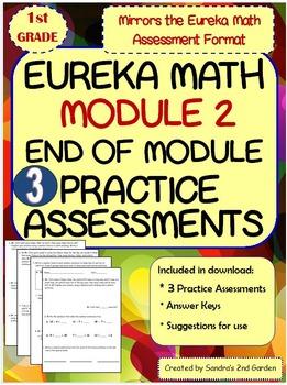 1st Grade Eureka Math / Engage NY End of Module 2 Practice