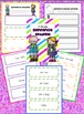 Fluency Activity First Grade Bundle