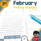 1st Grade Fluency Passages for February