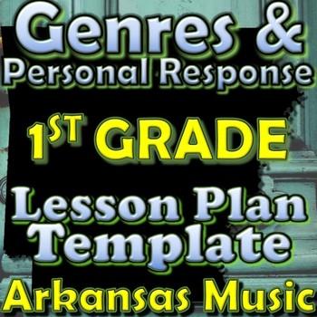 1st Gr Unit Plan Template - Genres/Personal Response - Ark
