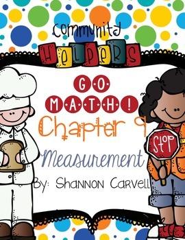 1st Grade Go Math Measurement and Data Bundle Chapters 9-10