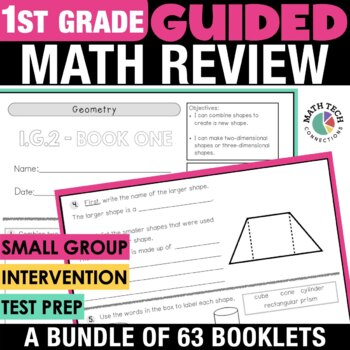 1st Grade Guided Math - ALL Standards!
