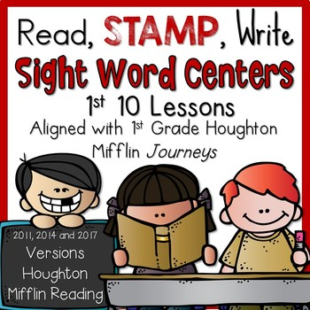 1st Grade Houghton Mifflin Read, Stamp, Write Sight Word C