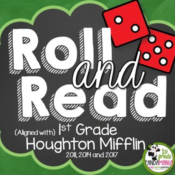 1st Grade Houghton Mifflin Journeys Reading Roll and Read