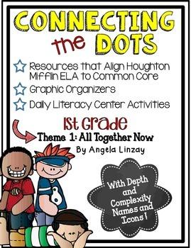 1st Grade Houghton Mifflin Theme 1: Common Core, Depth & C