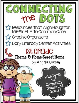 1st Grade Houghton Mifflin Theme 5: Common Core, Depth & C