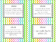 "1st Grade ""I Can"" Statement Cards for Common Core MATH"