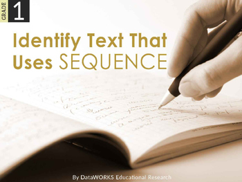 Identify Text that uses Sequence (EDI)
