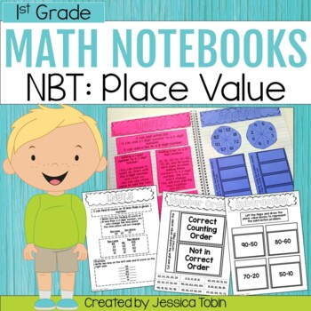 1st Grade Interactive Notebook- Numbers and Operations in
