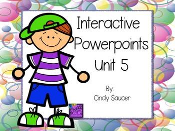 1st Grade Interactive PowerPoints, Unit 5, Reading Street