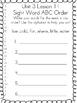 1st Grade Journey's Unit 3 word work