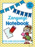 1st Grade Language Notebook: Interact, Teach, Practice, an