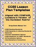 1st Lesson Plan Template  CCSS, COMPASS / Danielson Math,