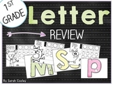 1st Grade Letter Review