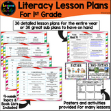 1st Grade Library Lesson Plans