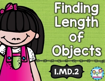 Finding Length of Objects Math Tasks and Exit Tickets
