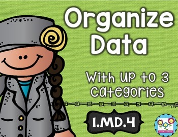 Organizing Data Math Tasks and Exit Tickets