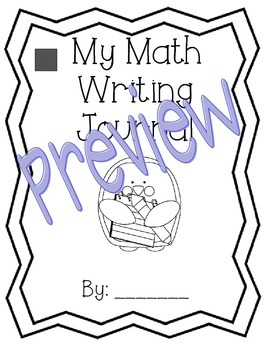 1st Grade Math Expressions Unit 5 Writing Journals