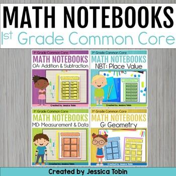 1st Grade Math Interactive Notebooks