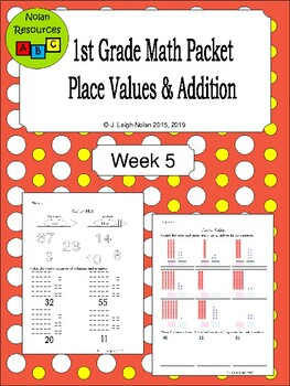 Place Value & Addition Packet - Week 5