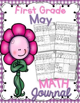 1st Grade May Math Journal